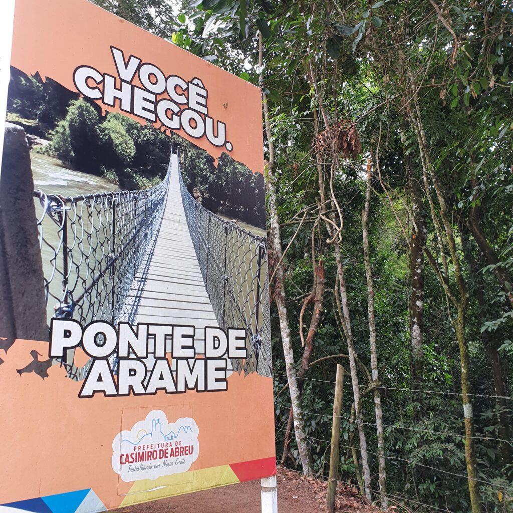 PASSEIO PARA PONTE DE ARAME - DICAS DE VIAGEM