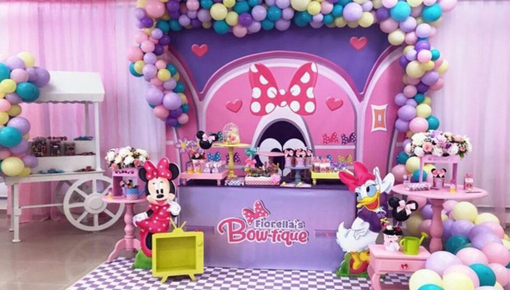 COMO FAZER FESTA CASA DA MINNIE decorações de festa infantil